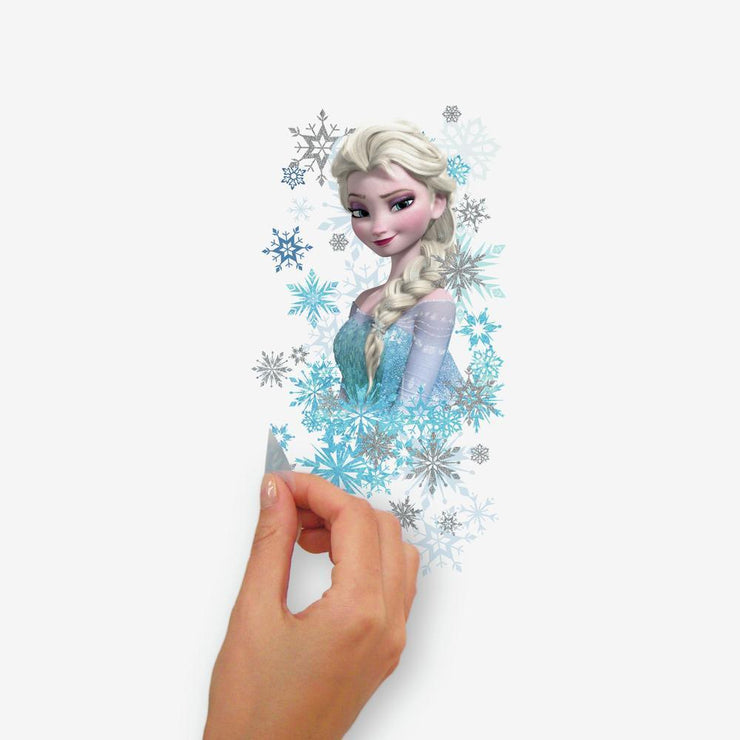 Disney Frozen Ice Palace ft. Elsa & Anna Giant Wall Decals With Glitter peel