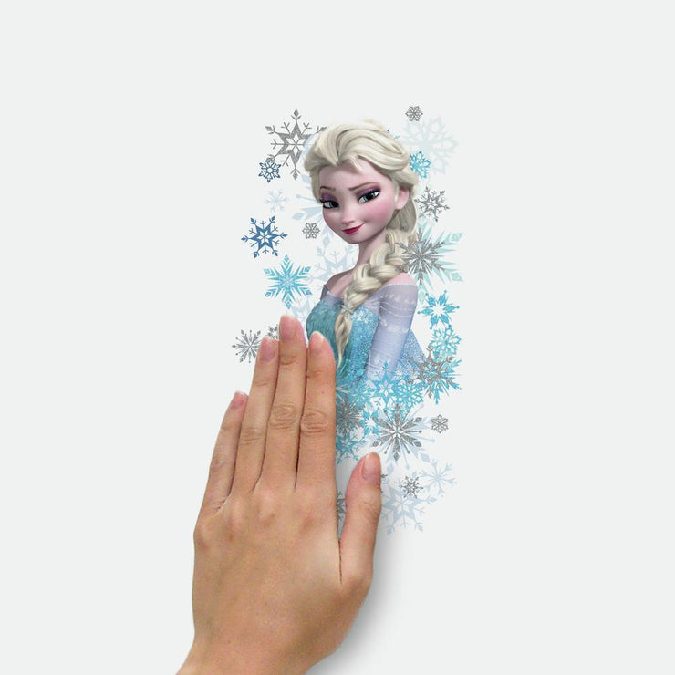 Disney Frozen Ice Palace ft. Elsa & Anna Giant Wall Decals With Glitter place