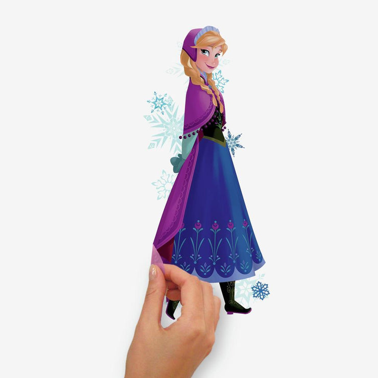 Frozen Elsa, Anna and Olaf Peel and Stick Wall Decals peel