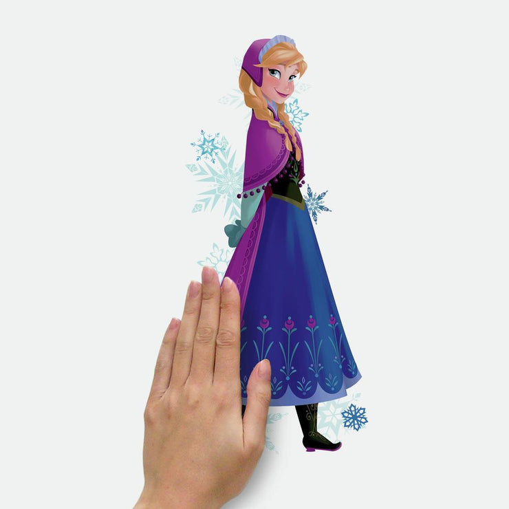 Frozen Elsa, Anna and Olaf Peel and Stick Wall Decals place