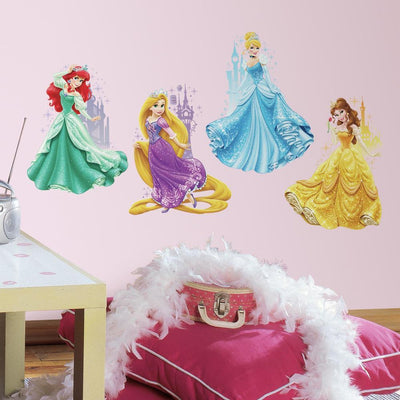 Disney Princess & Castle Wall Decals roomset