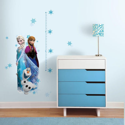 Disney Frozen Growth Chart Wall Decals roomset