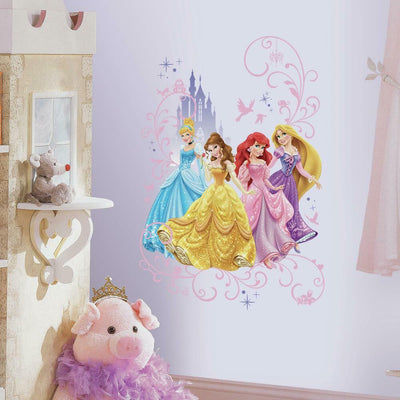 Disney Princess Wall Graphic roomset 2
