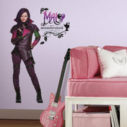 Descendants Mal Giant Wall Decals roomset
