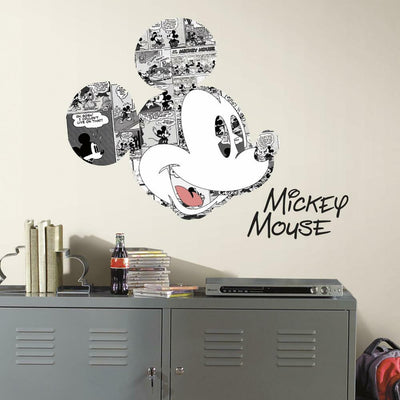 Disney Mickey Mouse Comic Wall Graphics roomset