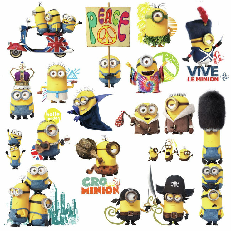 Minions The Movie Wall Decals