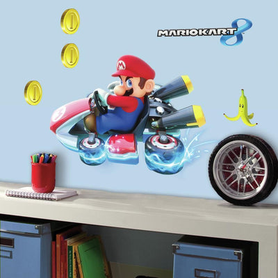 Mario Kart 8 Giant Wall Decals roomset