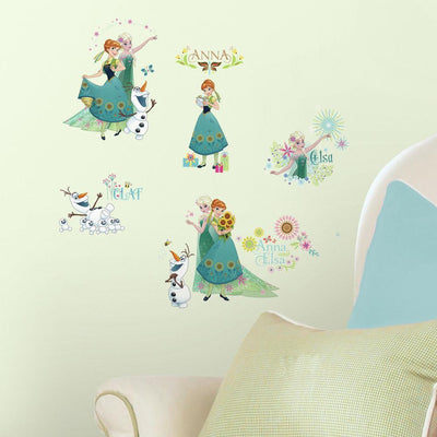 Disney Frozen Fever Wall Decals roomset