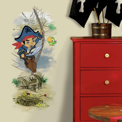 Captain Jake & the Never Land Pirate Treasure Giant Wall Graphic roomset