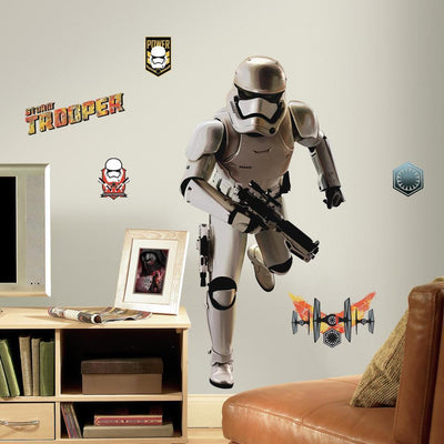 Star Wars: The Force Awakens Stormtrooper Giant Wall Decals roomset