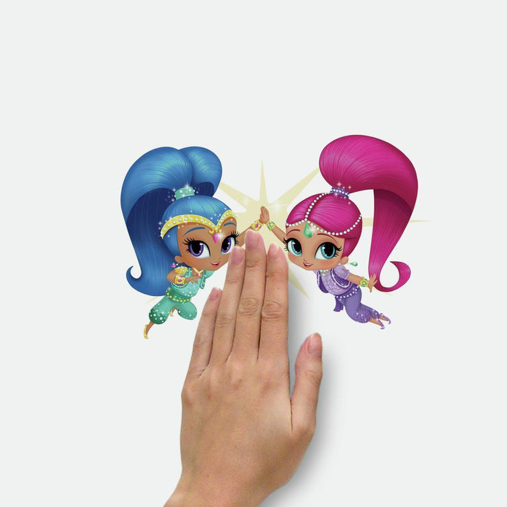Shimmer and Shine Peel and Stick Wall Decals place