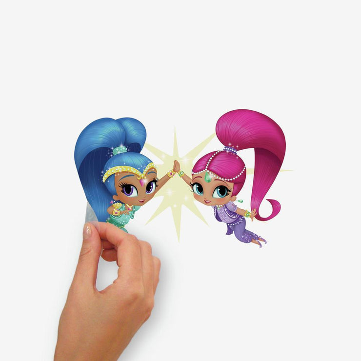 Shimmer and Shine Peel and Stick Wall Decals peel
