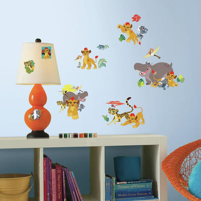 Disney The Lion Guard Peel and Stick Wall Decals roomset