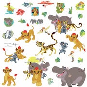 Disney The Lion Guard Peel and Stick Wall Decals
