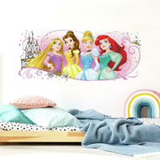 Disney Princess Friendship Adventures Giant Wall Graphic roomset