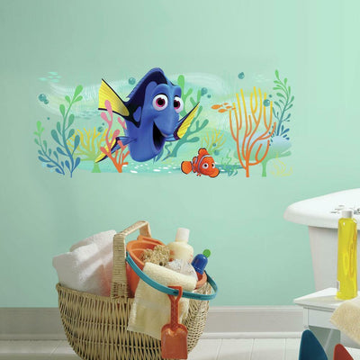 Disney Pixar Finding Dory and Nemo Giant Wall Graphic roomset