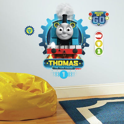 Thomas the Tank Engine Giant Wall Decals roomset