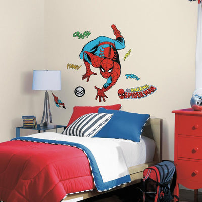 Classic Spider-Man Comic Giant Wall Decals roomset