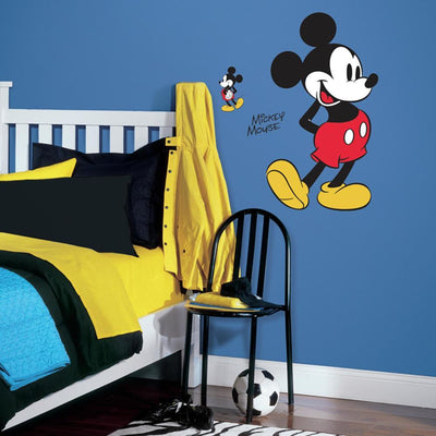 Mickey Mouse Giant Wall Decals roomset