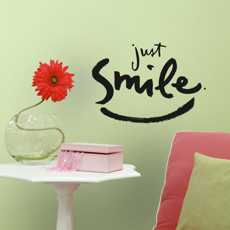 Kathy Davis Just Smile Wall Decals roomset