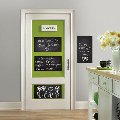 Chalkboard Wall Decals roomset