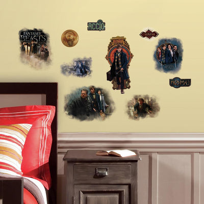 Fantastic Beasts and Where to Find Them Wall Decals roomset