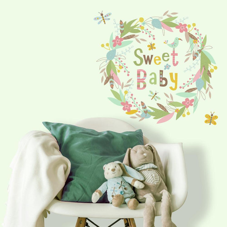 Sweet Baby Giant Wall Decals roomset