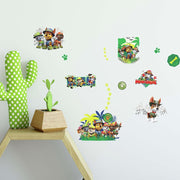 Jungle Paw Patrol Peel and Stick Wall Decals roomset