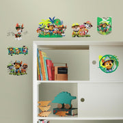 Jungle Paw Patrol Peel and Stick Wall Decals roomset 3