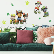 Jungle Paw Patrol Giant Wall Decals roomset 2