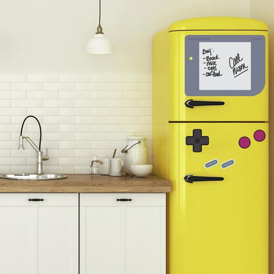Nintendo Gameboy Giant Wall Decals with Dry Erase roomset