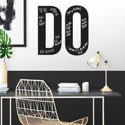 DO Motivational Chalk Peel and Stick Wall Decals roomset