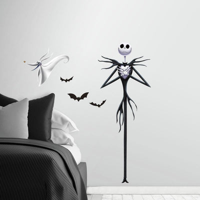 The Nightmare Before Christmas Jack Peel and Stick Giant Wall Decals roomset