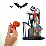 The Nightmare Before Christmas Peel and Stick Wall Decals peel