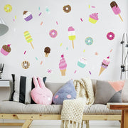 Sweet Treats Wall Decals roomset
