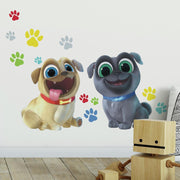 Puppy Dog Pals Peel and Stick Giant Wall Decals roomset