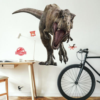Jurassic World: Fallen Kingdom T-Rex Giant Wall Decal roomset