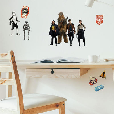 Star Wars Han Solo Wall Decals roomset