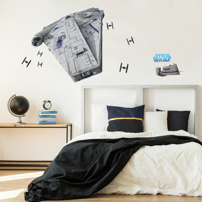 Star Wars Han Solo Millennium Falcon Giant Wall Decal roomset