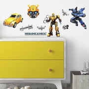 Transformers Bumblebee Peel and Stick Wall Decals roomset