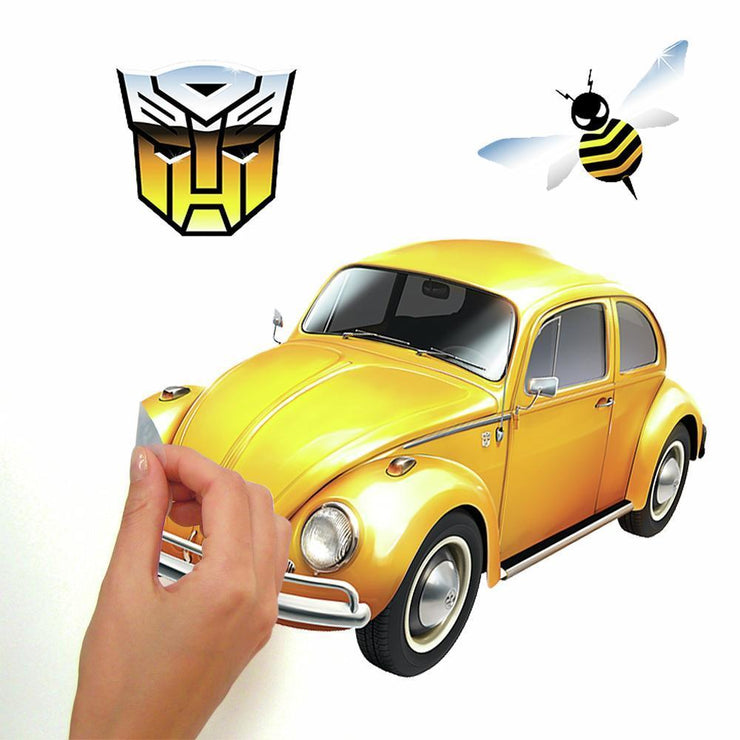 Transformers Bumblebee Peel and Stick Wall Decals peel