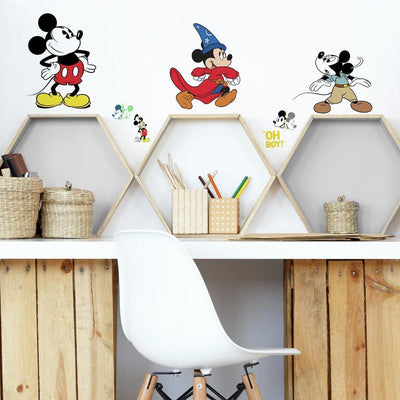 Disney Mickey Mouse the True Original 90th Anniversary Peel and Stick Wall Decals roomset