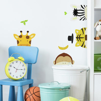 Zoo Peel and Stick Wall Decals roomset