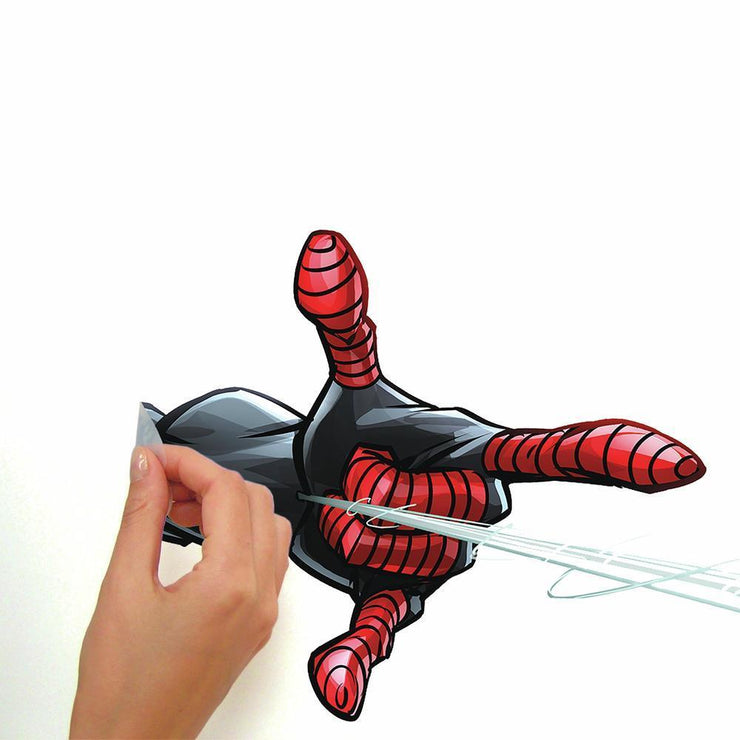 Spider-Man Miles Morales Peel and Stick Giant Wall Decals peel