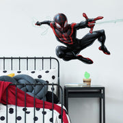 Spider-Man Miles Morales Peel and Stick Giant Wall Decals roomset
