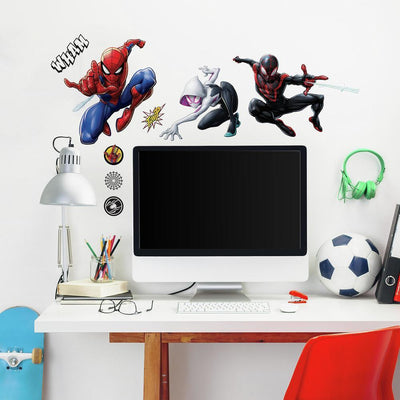 Spider-Man Peel and Stick Wall Decals roomset