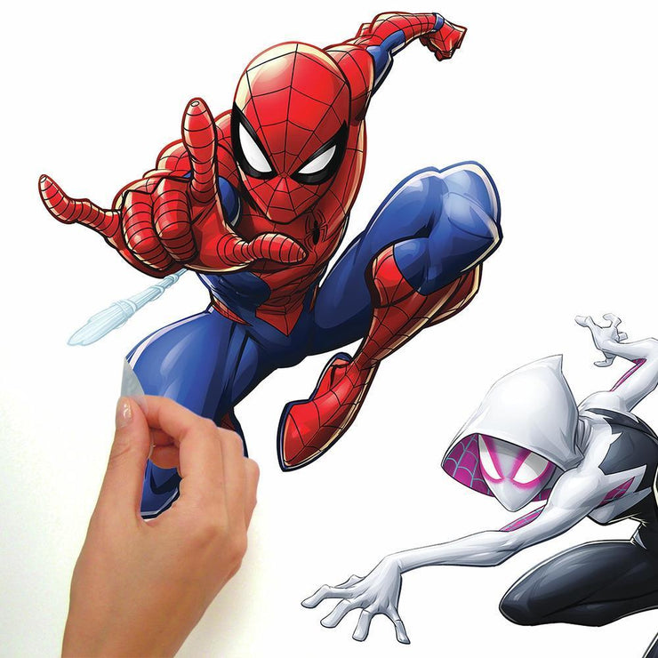 Spider-Man Peel and Stick Wall Decals peel