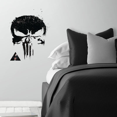 The Punisher Peel and Stick Giant Wall Decal roomset