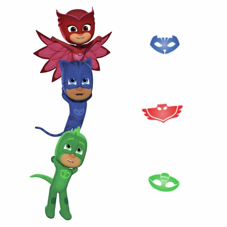 PJ Masks Superheroes Peel and Stick Giant Wall Decals