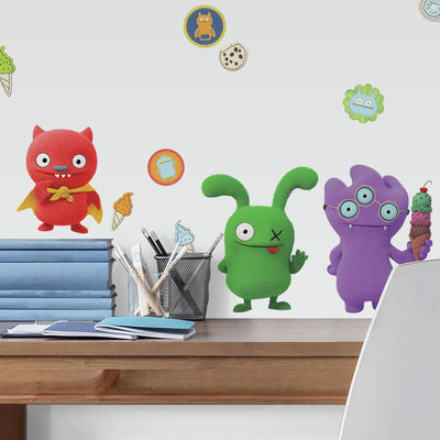 UglyDolls Character Wall Decals roomset